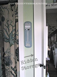 Hidden Door Storage