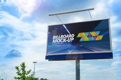 Billboard Free PSD Mockup