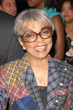 Ruby Dee is still as stylish and beautiful as ever! Civil rights leader