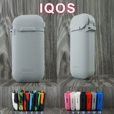 Leather Protector Anti Scratch silicone Cover Case for IQOS Electronic Cigarette Very popular iQOS silicone case free shipping