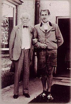 Richard Strauss and Hans Hotter