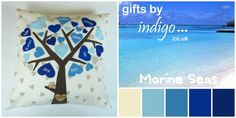 Family Tree Cushion Covers - Marine Seas - The Supermums Craft Fair
