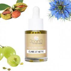 Synergie d'huiles végétales bio pour peaux mixtes ou à imperfection : jojoba…