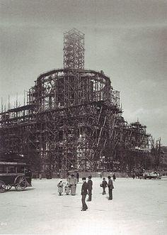 Berlin 1897 Berliner Dom im Bau
