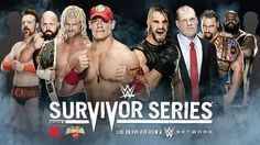 WWE Monday Night Raw November 10, 2014 The build for the #TeamCENA Vs #TeamAuthority #SurvivorSeries main event was the focus of WWE's annual trip to the #UnitedKingdom #RAW  #TNA #ROH