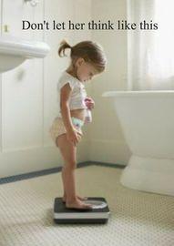 Teach the children that fitness and health are not found on the scale.