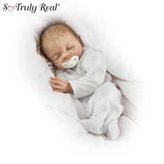 Denise Farmer Cherish Collectible Lifelike Vinyl Baby Doll: So Truly Real by Ashton Drake