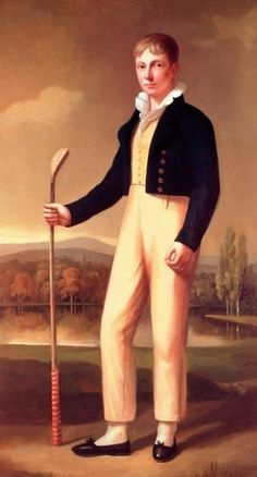 Douglas Robertson Esq. of the Royal and Ancient Golf Club by Sir John Watson Gordon (1788-1864).