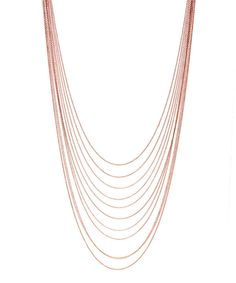 Look at this Rose Gold Sandalwood Drape Necklace on #zulily today!
