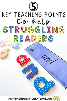 Here are 5 steps to develop struggling readers into independent readers. (These strategies will work for all students matter what level they are on)