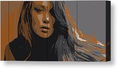 Painting of Leanna Decker