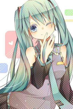 Miku hatsune (note: I moved the frog pin to Otaku Paradise due to a mistake.)