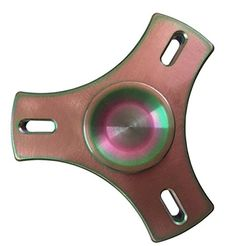 Hand spinnerfidget spinner toyEDC TriSpinner Fidget SpinnerColorful *** Read more reviews of the product by visiting the link on the image.(This is an Amazon affiliate link and I receive a commission for the sales)