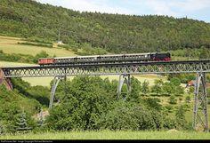 V 36 204 WTB Wutachtalbahn V 36 at Epfenhofen, Germany by Richard Behrbohm