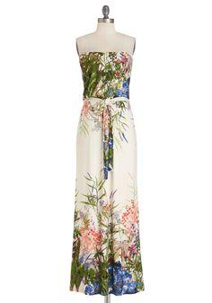 Oh Spring! <3 Queen of the Wildflowers Dress | Mod Retro Vintage Dresses | ModCloth.com