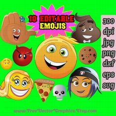 The emoji movie vector png svg eps