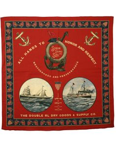 """RRL SS12 Vignette Bandana, need Bandana larger than 22"""" or it is useless,  to expensive, check Boy Scouts"""