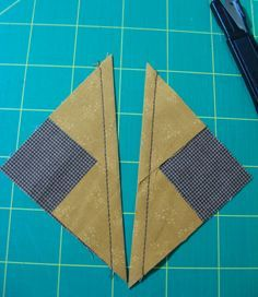 ...laugh yourself into Stitches: No Waste Flying Geese tutorial