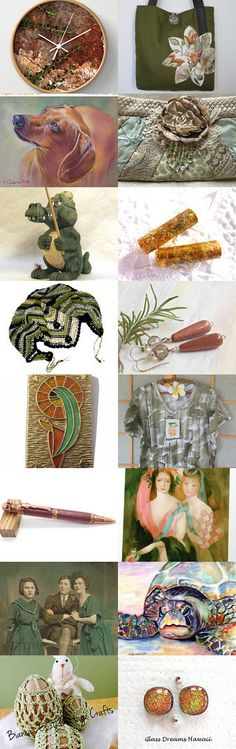 the dog, the alligator, the turtle, and the bunny by Patrick Rabbat on Etsy--Pinned+with+TreasuryPin.com