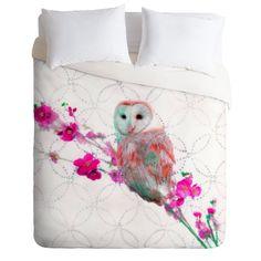 Amazon.com: DENY Designs Hadley Hutton Quinceowl Duvet Cover, Twin/Twin XL: Bedding & Bath