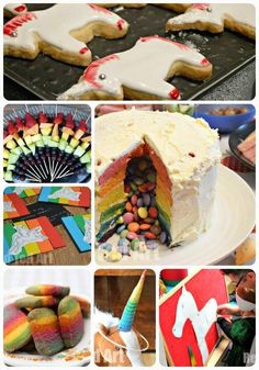 Unicorn Party - finally, I get a chance to share my four year old's Unicorn Party. We had great fun with Rainbows & Unicorns. Lots of yummy party food and unicorn games.