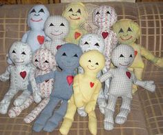 Free Fabric Doll Patterns   Cloth Doll Charity Projects