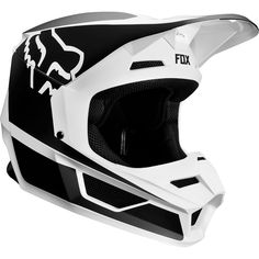 60d4a9055a Fox Racing® Black White YOUTH V1 PRZM HELMET - Foxracing.com By interest -  Official Foxracing.com