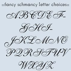 Fonts Alphabet on Pinterest | Scripts, Font Alphabet and Fancy Fonts ...