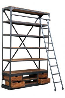 omg my Beauty and the Beast dream of having a book ladder can actually come true?!