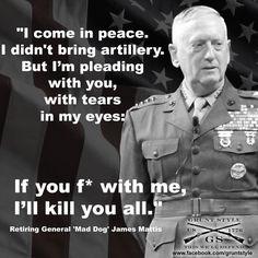 37 Best Gen James Mattis Images Military Humor General James