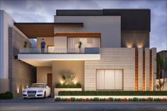 Architecture Discover Model Town on Behance House Elevation Front Elevation Modern House Plans Modern Houses Parents Room House Map Clock Wall Awesome House Dream House Exterior Modern Exterior House Designs, Modern House Facades, Modern Bungalow House, Dream House Exterior, Exterior Design, Contemporary Home Exteriors, Modern Houses, Bungalow House Design, House Front Design