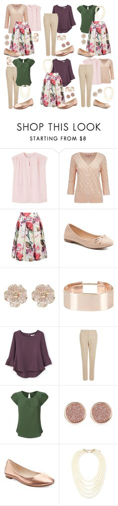 """Teacher Outfits on a Teacher's Budget 191: Mix & Match"" by allij28 ❤ liked on Polyvore featuring MANGO, Joe Browns, SO, River Island, New Look, Monsoon, Alfani and Forever 21"