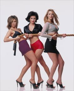 jennifer aniston & courteney cox & lisa kudrow