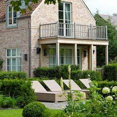 Belgian | Exteriors | Balcony | Brick | Garden