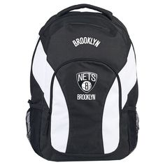 Brooklyn Nets NBA Draft Day Backpack.  Visit SportsFansPlus.com for a Discount Coupon.
