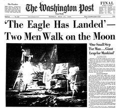 Moon Landing-July 20, 1969