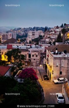 Early morning in Nazareth, Israel. I can almost feel it the moment
