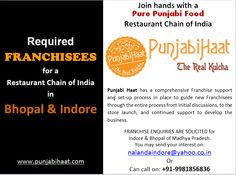 PunjabiHaat is looking for FRANCHISEES in Bhopal & Indore (MP).