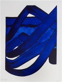 Pierre Soulages (azul y negro) Tachisme, Action Painting, Abstract Expressionism, Abstract Art, Abstract Painters, Mouton Rothschild, Modern Art, Contemporary Art, Spirited Art