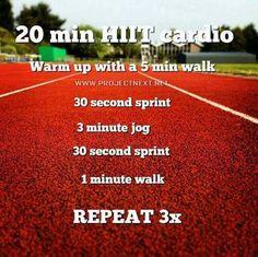 20 min HIIT cardio