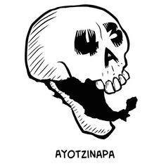 43 altares for Dia de los Muertos in Ayotzinapa, Mexico (toon) by LALO ALCARAZ on OCTOBER 29, 2014 in CARTOONS, EL NOW