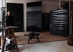 "Pierre Soulages-""I have never believed that painting is over. It belongs to human nature"