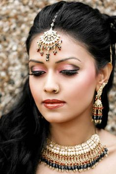 Exotic gowns+ maticulous make-up + pretty ladies = Beautiful Brides.