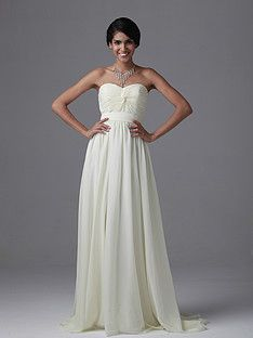 Strapless Chiffon Gown | Plus and Petite sizes available! Hundreds of styles, tons of colors!
