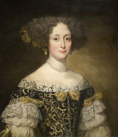 Anna Caffarelli Minuttiba, ca. 1675 by Maulleigh, via Flickr
