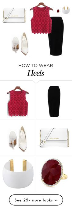 """""""I'm so over it."""" by arfonida on Polyvore featuring Tome, Gogo Philip, Shoe Republic LA and MICHAEL Michael Kors"""