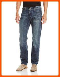 Lucky Brand Men's 221 Original Straight JeanLeg Jean In Blue Gold,  38x34 - Mens world (*Amazon Partner-Link)