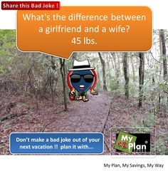 HAHAHA, what a funny joke Want to visit the most amazing places in the US? Go to www.myezplan.com #dreams #joke #tour #bestoftheday #Home