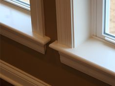 step-by-step how-to DIY vinyl window trim upgrade Vinyl Window Trim, Window Casing, Window Sill, Window Trims, Vinyl Windows, Easy Home Upgrades, Dream House Plans, Home Projects, Window Treatments
