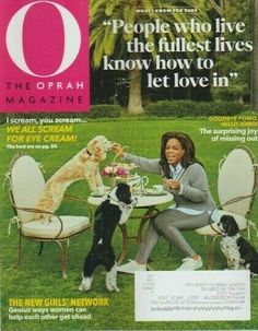 O The Oprah Magazine April 2020 The New Girls Network Eye Cream Missing Out New O The Oprah Magazine, News 6, I Scream, George Clooney, Vintage Magazines, New Girl, Confessions, Feel Good, Audiobooks